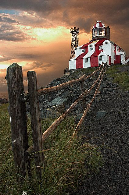 Terre-Neuve ✈ Beautiful lighthouse - Newfoundland (Canada)
