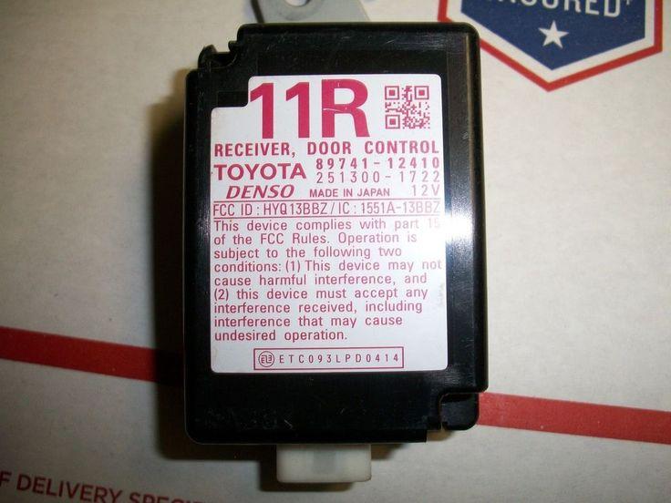 08 09 10 #TOYOTA #SCION #XB DOOR CONTROL RECEIVER 11R #89741-12410