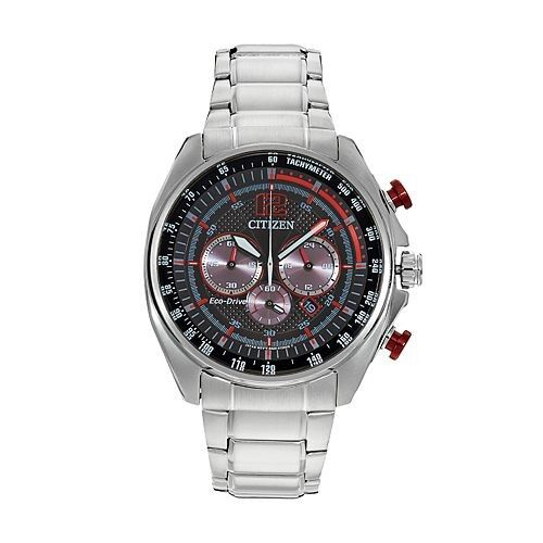 $295.00 Citizen Eco-Drive Men's Chronograph with Stainless Steel Bracelet