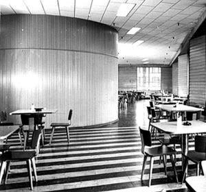 Detrola Radio Company Cafe, c.1946