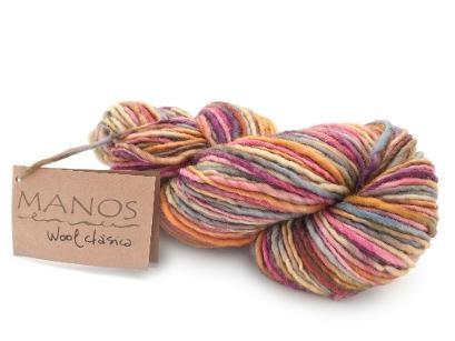 Manos del Uruguay Classica Yarn (Wildflowers) - Free Shipping! Manos del Uruguay Classica Yarn Color: Wildflowers Fiber: 100% Wool Weight: #4 Worsted Yardage: 100g/138 yards