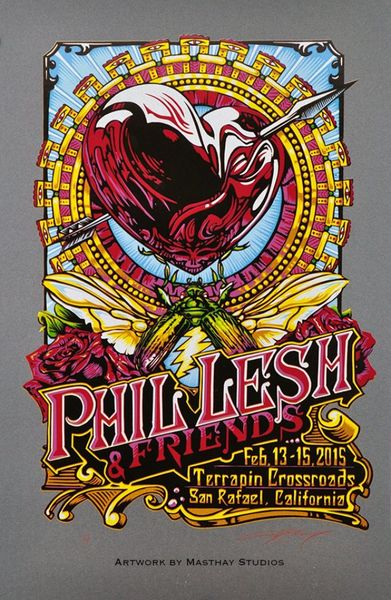 """Phil Lesh and Friends"" by A.J. Masthay 