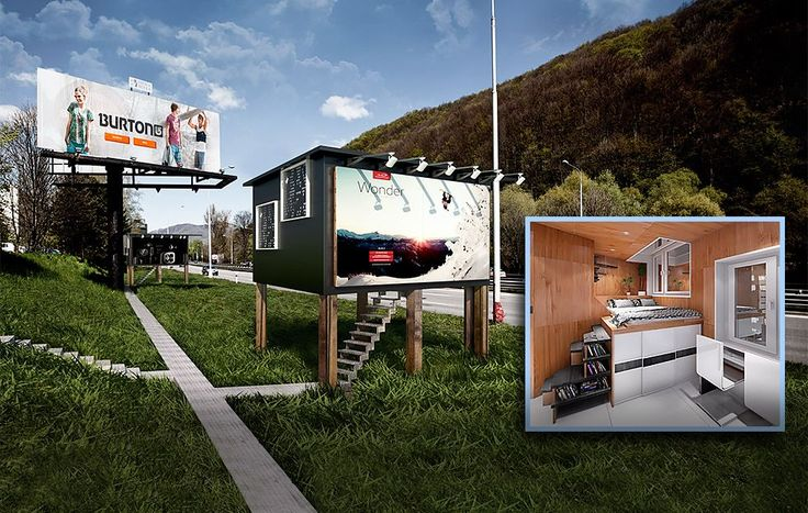 Billboards That Double as Homeless Housing May Soon Pop Up in the U.S. | TakePart