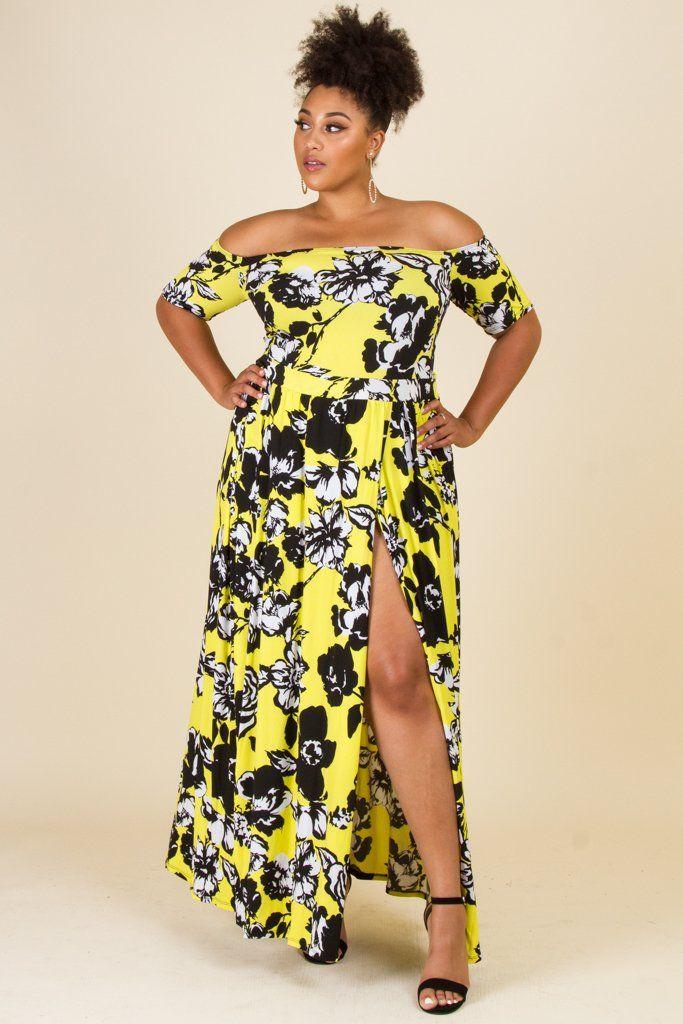 0c8a30ec9eff Plus Size Romper Flower Maxi Dress Combo