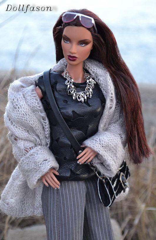 "My handmade doll`s outfit. Наряд для кукол моей работы. Коллекция ""Хмурый март"" №2"