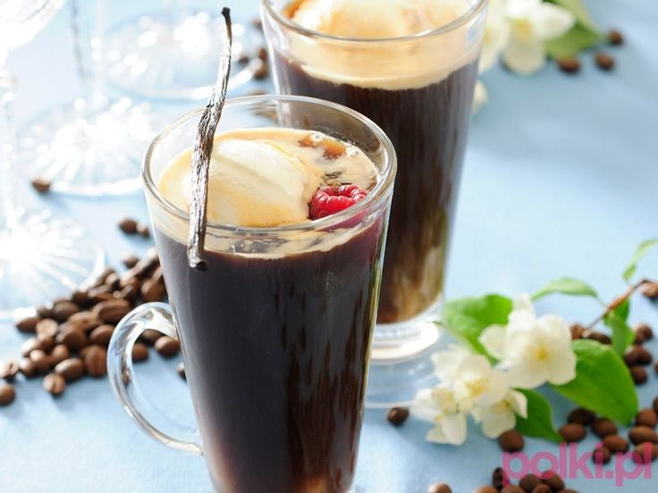 Mrożona kawa z lodami