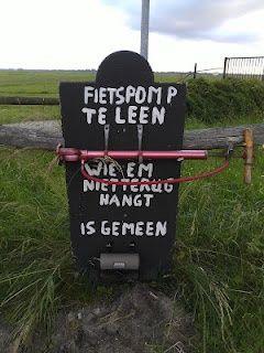 fietspomp - dit kan ook in Nederland