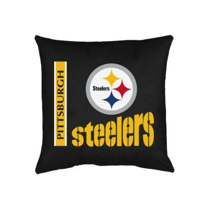 Pittsburgh Steelers Decorative Pillow.Opens In A New Window