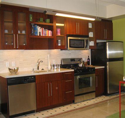 One Wall Kitchen Layouts 425x403
