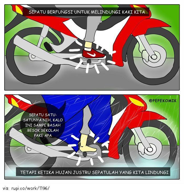 kebiasaan - Rupi - Social Comic Strip @rupidotco