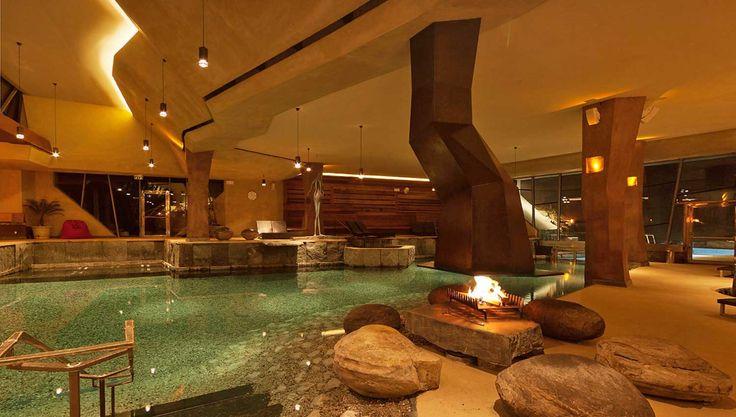 Wellness-Spa del Caravan Park Sexten (BZ) - Golden Camping