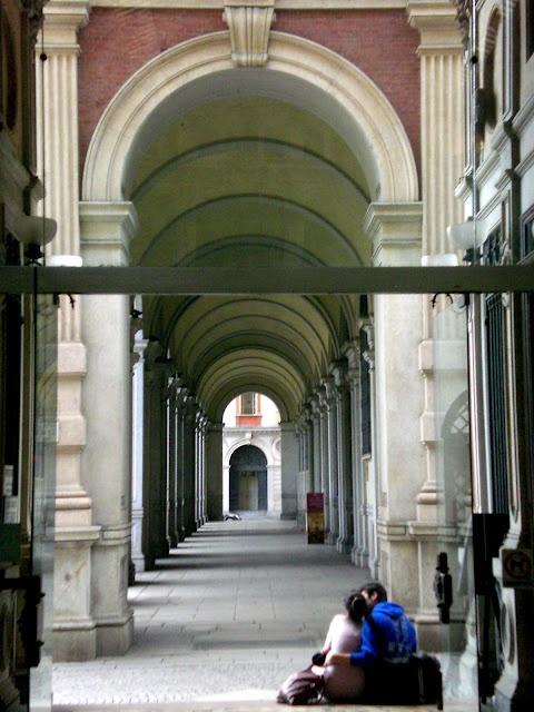 Torino Portici di Piazza Carlo Alberto