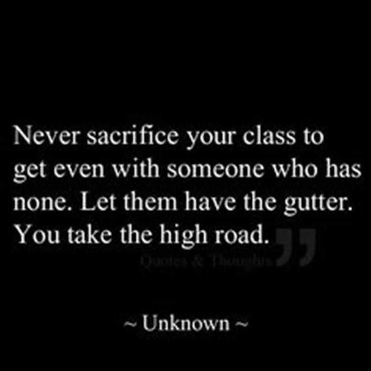 Some will never have any class