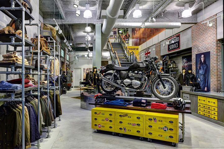 Pin De Anastasia Mandrou En M M Shop Taller De Motos Tienda Motos Interior De Tienda