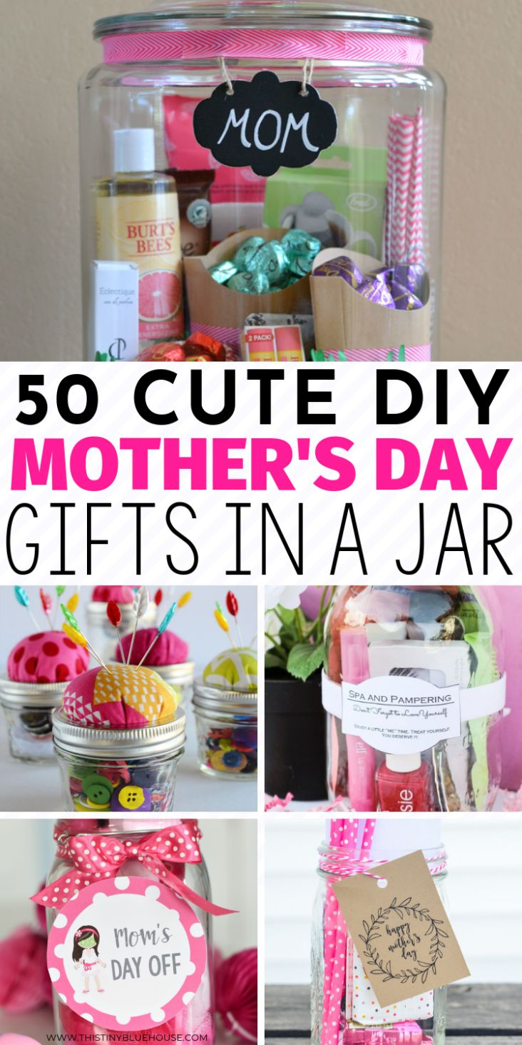 50 thoughtful creative mothers day gifts in a jar