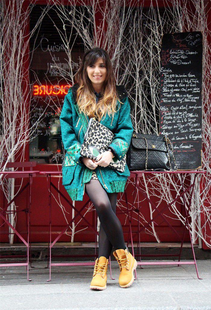 blog mode timberland femme