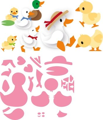 Col1428 Eline's duck family