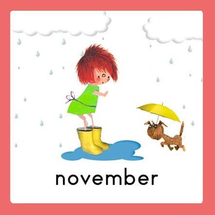 Jaarkalender Floddertje: november