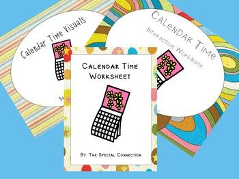 Ready for an awesome Calendar Time??? There are so many skills that can be taught from just this short amount of time. So let me help take some of the prep work out for you. This Calendar Time Bundle includes all three of my Calendar Time Resources!! *************************************** Included: