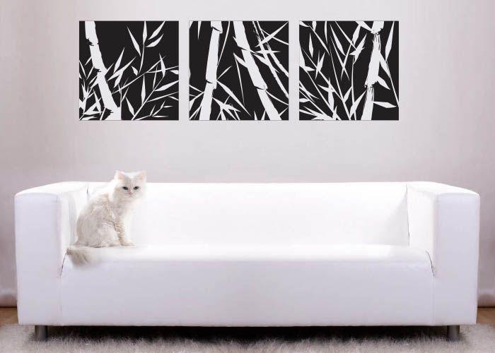 bambucu #decoraconvinil #vinilosdecorativos #decoracion #decoratupared #bambu #moderno