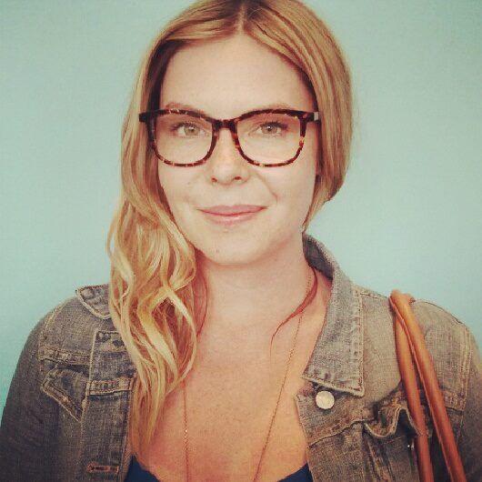 Lauren in Anne et Valentin #glasses @Optik PDX