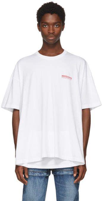 12b8c0bf6f White Speedhunter Double Hem T-Shirt #Rib#white#knit | Men Styles ...