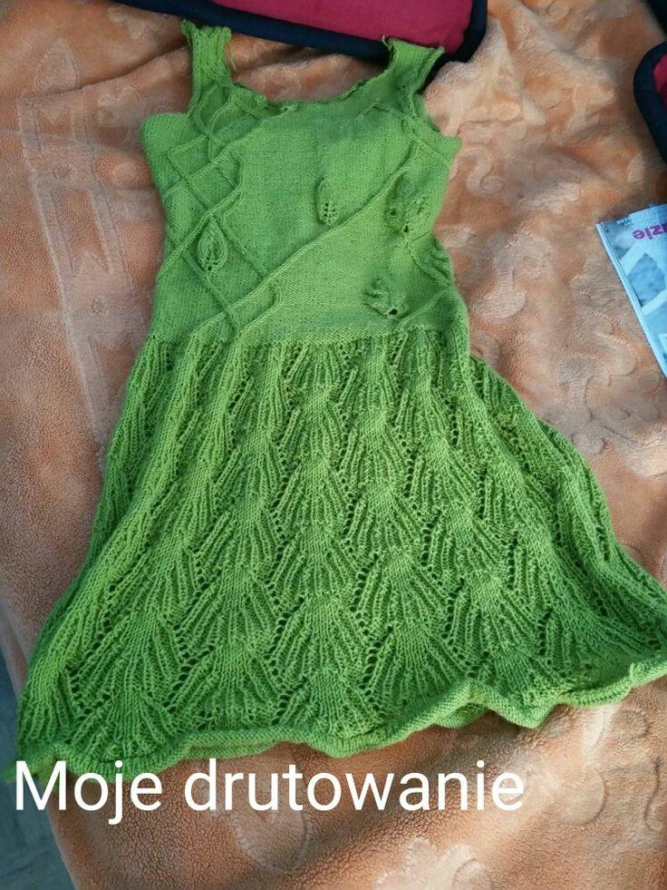 sukienka dla córci - pełna improwizacja