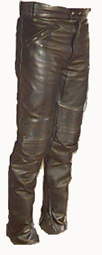 Leather-Motorcycle-Pants-Various-Sizes-100-Off