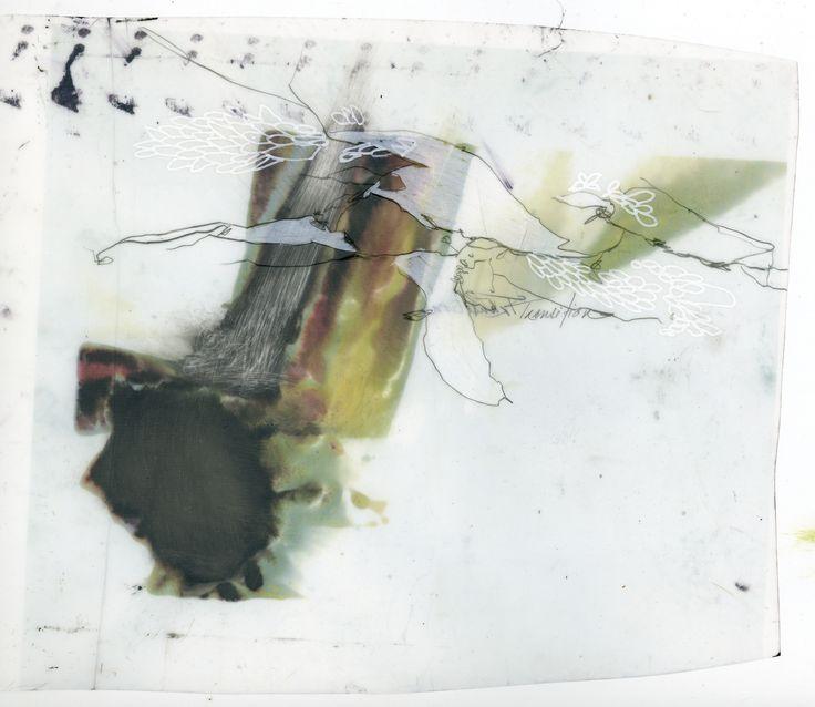 Mon patrimoine  Impression numérique, graphite et compté blanc.   2009
