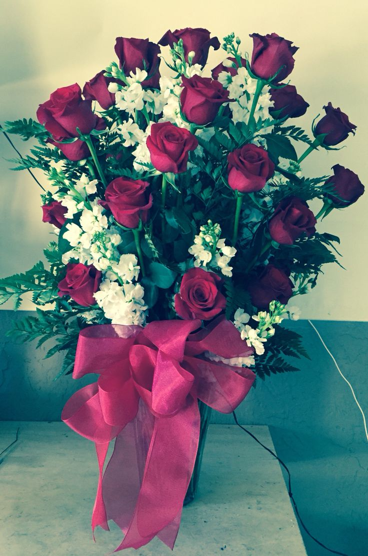 Nothing says I Love You more than 3 Dozen Red Roses