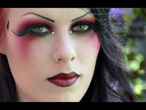 Modern Moulin Rouge Inspired Makeup Look Tutorial By Delyria Video Clip