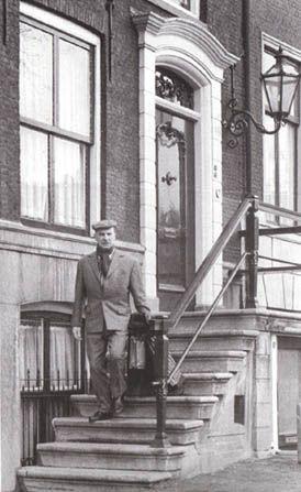 Reguliersgracht 40, hier heeft Wim Sonneveld rond 1955 gewoond.