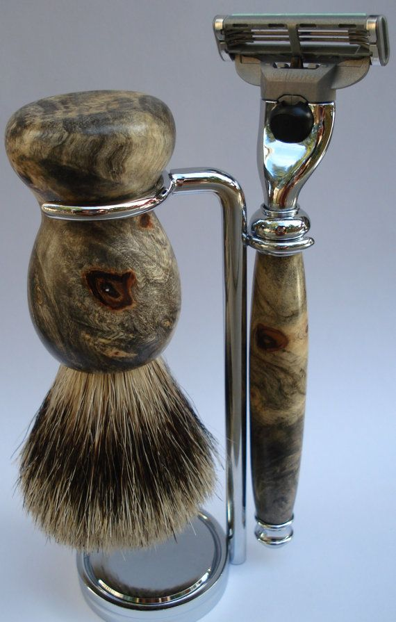 shaving kit... Fathers day gift?