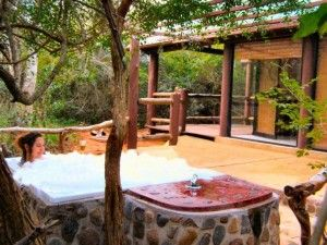 Jacuzzi in the jungle - St Lucia KZN south africa