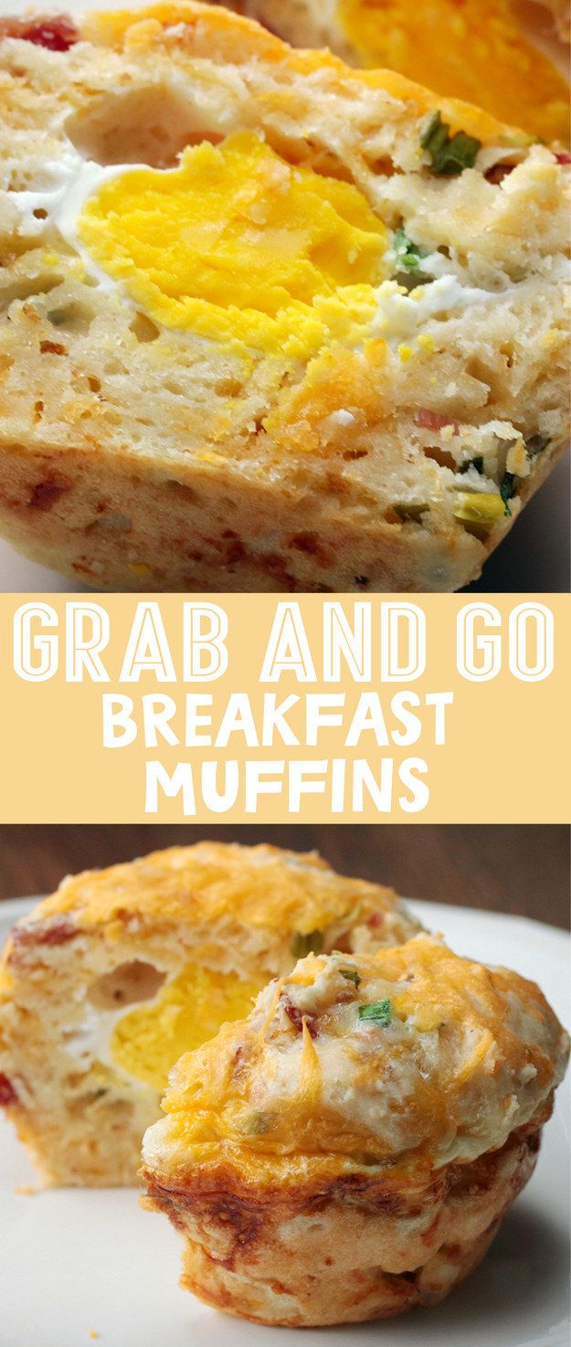 Grab And Go Breakfast Muffins