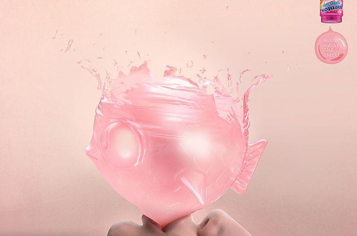 mentos-bubble-gum-fish-chicken-outdoor-print-390035-adeevee.jpg (1700×1127)