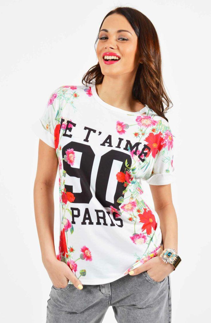 Φλόραλ T-shirt