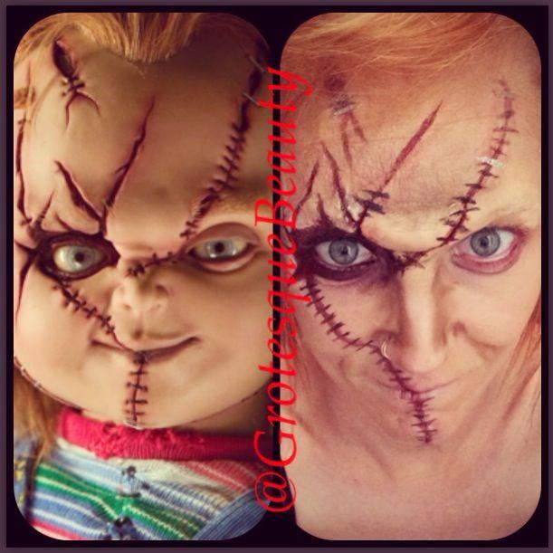 chucky makeup - Google Search