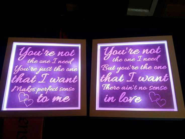 Matching, pink, light up, Take That lyric frames. https://www.facebook.com/Thorny-Tree-Gifts-972127826132391/