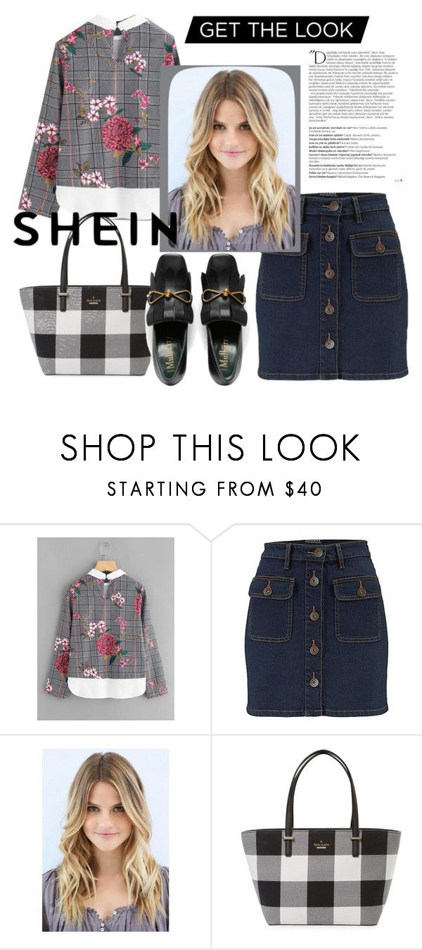 """""""what to wear today"""" by bbywolfy ❤ liked on Polyvore featuring Kate Spade and Balmain"""