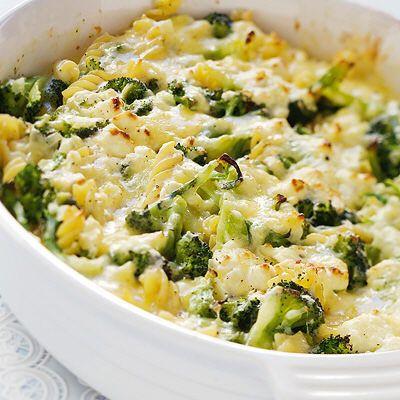 Bild på Pastagratäng med broccoli och fetaost
