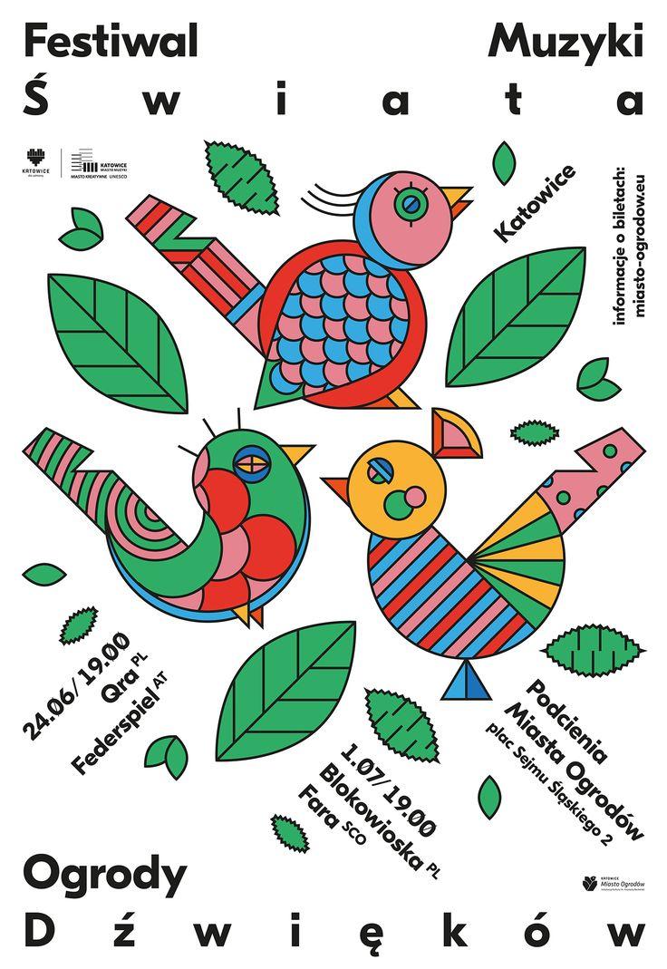 Gardens of Sounds Festival 2016 on Behance