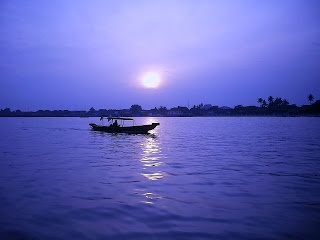 Musi river, Palembang Indonesia | Violet diamond of Royal Kingdom