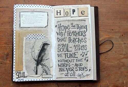 Besottment Traveler's Notebook Art Journal