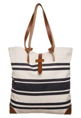 Shopping bag - off-white/blue