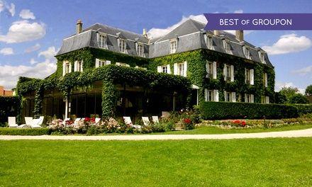 Île-de-France : 1 ou 2 nuits, accès tennis et piscine, dîner et balade à cheval optionnels au Château de Sancy 4* pour 2