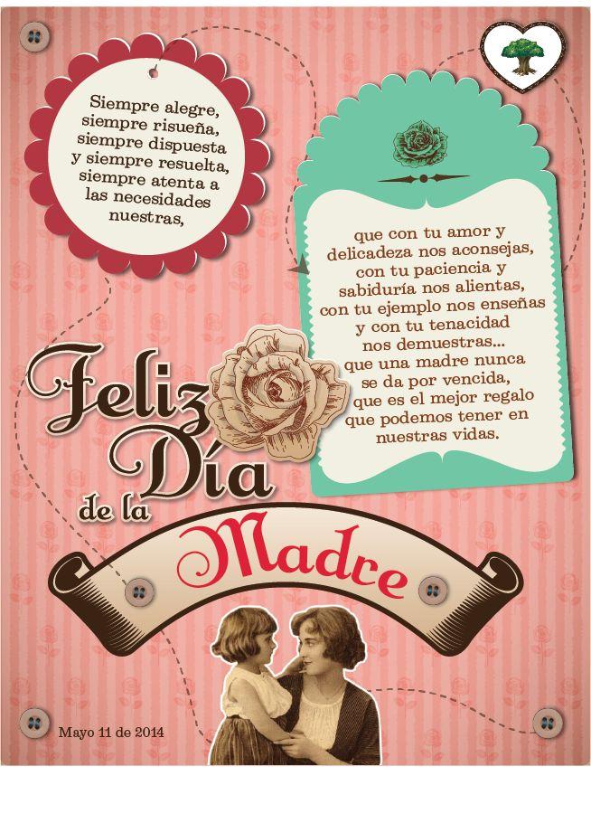 Tarjeta dia de la Madre (oficina)
