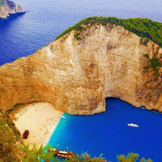 Shipwreck bay, Zakynthos #paradise #picoftheday #photooftheday #shipwreckbay #shipwreck #zakynthos #zante #mytravel #beautifuldestinations #beach #wanderlust #worlderlust #wheretotravel #wonderfuldestinations #TFLers #traveltv #travelgram #igers #igshot #igphoto #igtravel #instagood #instalike #instalove #instafollow #instanature #ig_supershots #igersoftheday #instapassport #vsco