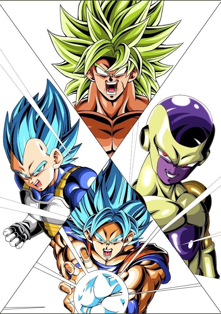 Dragon ball super broly movie maliks work dibujos de - Imagenes de dragon ball super descargar ...
