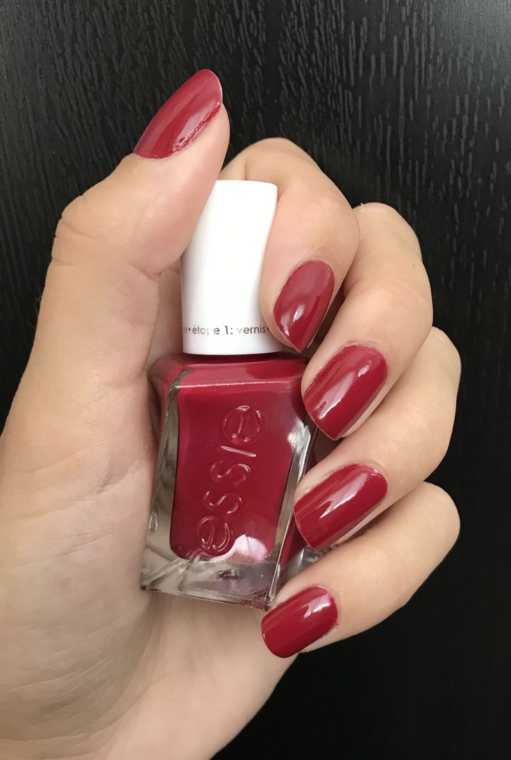 Essie Drop The Gown Nails In 2019 Nail Designs Nails